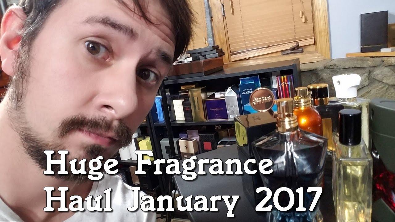 Huge Fragrance Cologne Haul January 2017 W New Tom