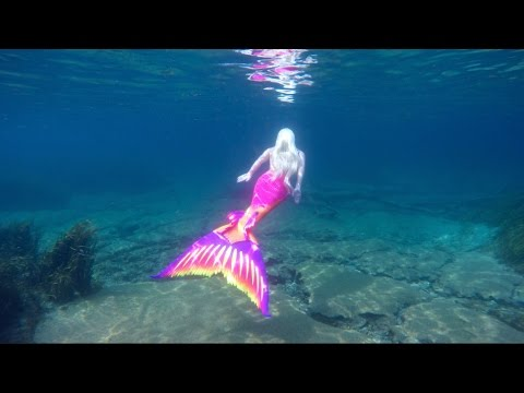 Living Underwater: Real Life Mermaid Melissa