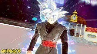 Goku Black Transformations (SSJ1-SSJ2-SSJ3-SSJ4-SSG-SSR-UI-Mastered UI) | Dragon Ball Xenoverse 2