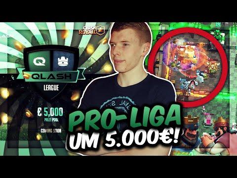 NEUE PRO-LIGA UM 5.000€! | Schaffen wir den Einzug in die QLASH League? | Clash Royale Deutsch