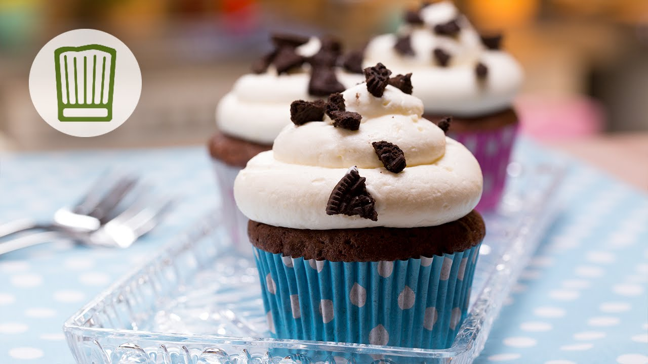 Oreo Cupcakes Rezept Chefkoch Youtube
