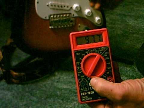 Guitar Pickup Tester