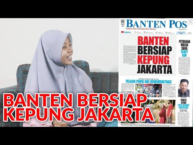 BANTEN BERSIAP KEPUNG JAKARTA | PELAJAR PUNYA HAK BERDEMONSTRASI | BANTEN POS HARI INI 19/10/2020