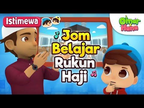 Istimewa Aidiladha | Jom Belajar Rukun Haji! | Omar & Hana