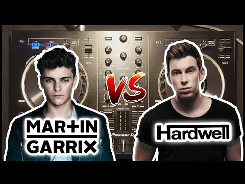 Martin Garrix vs Hardwell Live Mix 2017 | Pioneer DDJ-RB [500 SUBS SPECIAL]