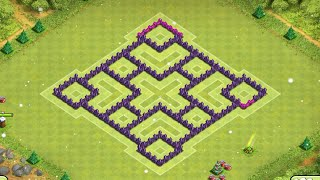 INSANE FARMING BASE | New 2015 Town Hall 7 Defence | Clash Of Clans Speed Build