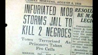 Marion Indiana 1930 Lynching