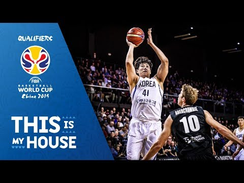 New Zealand v Korea - Game Highlights - FIBA Basketball World Cup 2019 - Asian Qualifiers