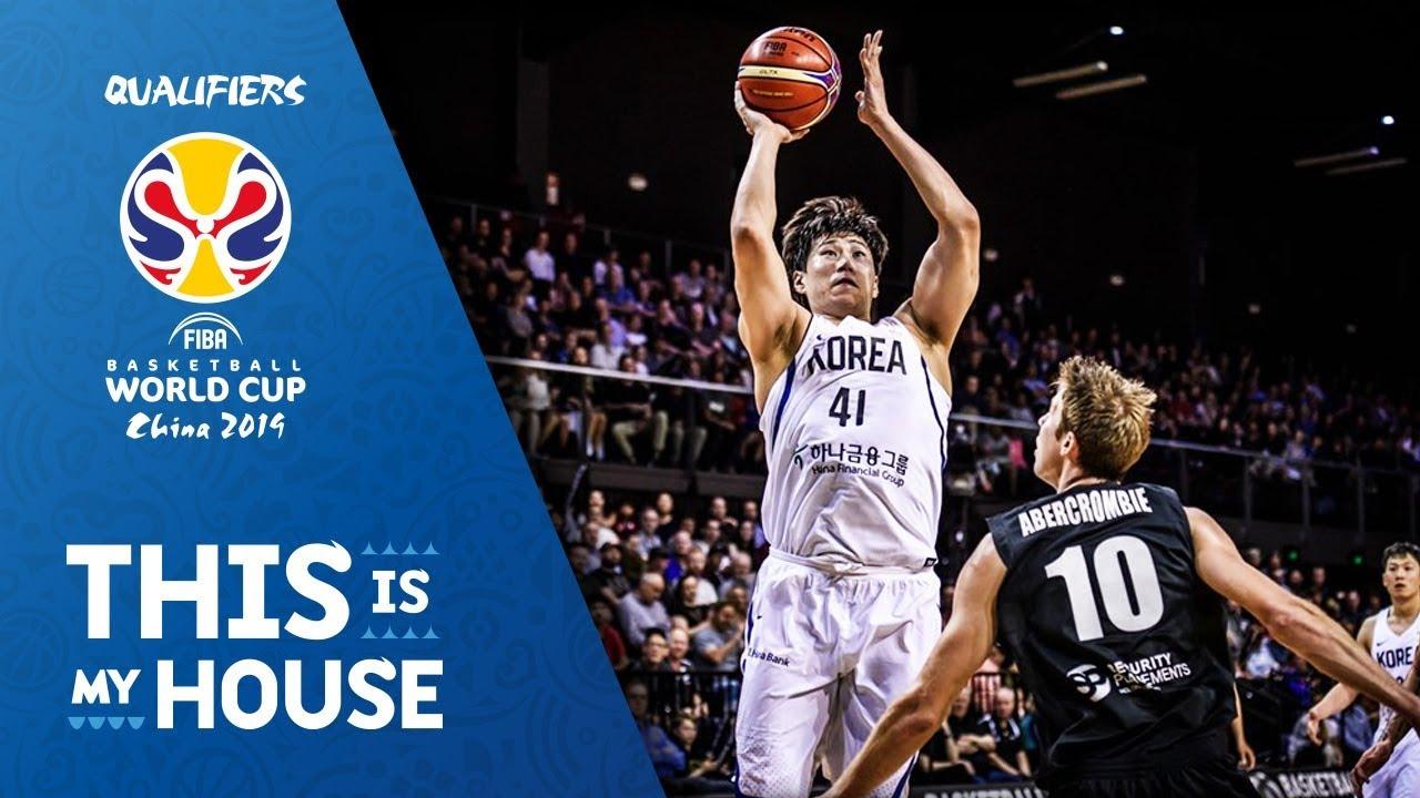 New Zealand v Korea - Highlights - FIBA Basketball World Cup 2019 Asian Qualifiers