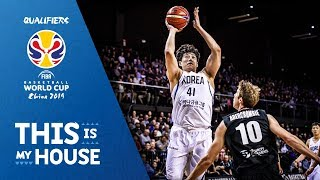 New Zealand vs Korea - Game Highlights - FIBA Basketball World Cup 2019 Asian Qualifiers