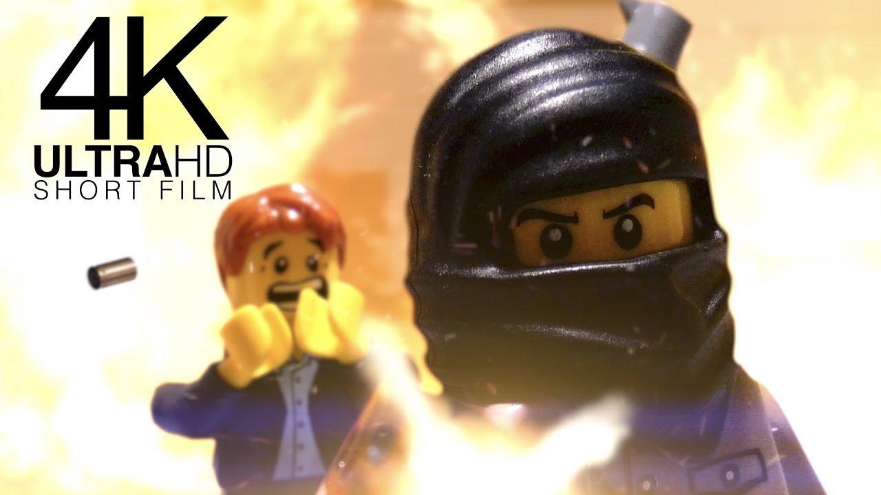 Lego RAID   4K AWARD WINNING Short Film