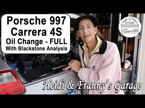 How to Change Oil on a Porsche 997 Carrera 4S – with Blackstone Analysis! (DIY)