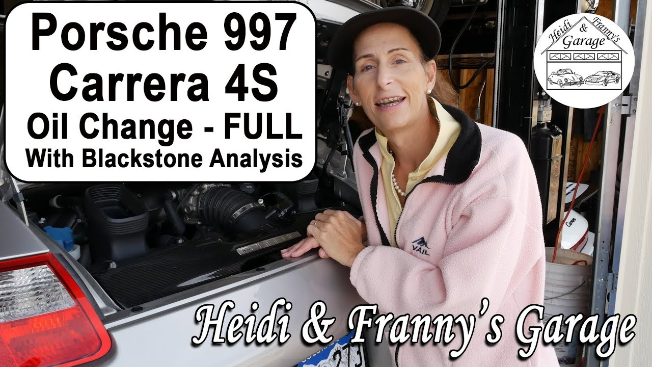 how to change oil on a porsche 997 carrera 4s with blackstone analysis diy  [ 1280 x 720 Pixel ]