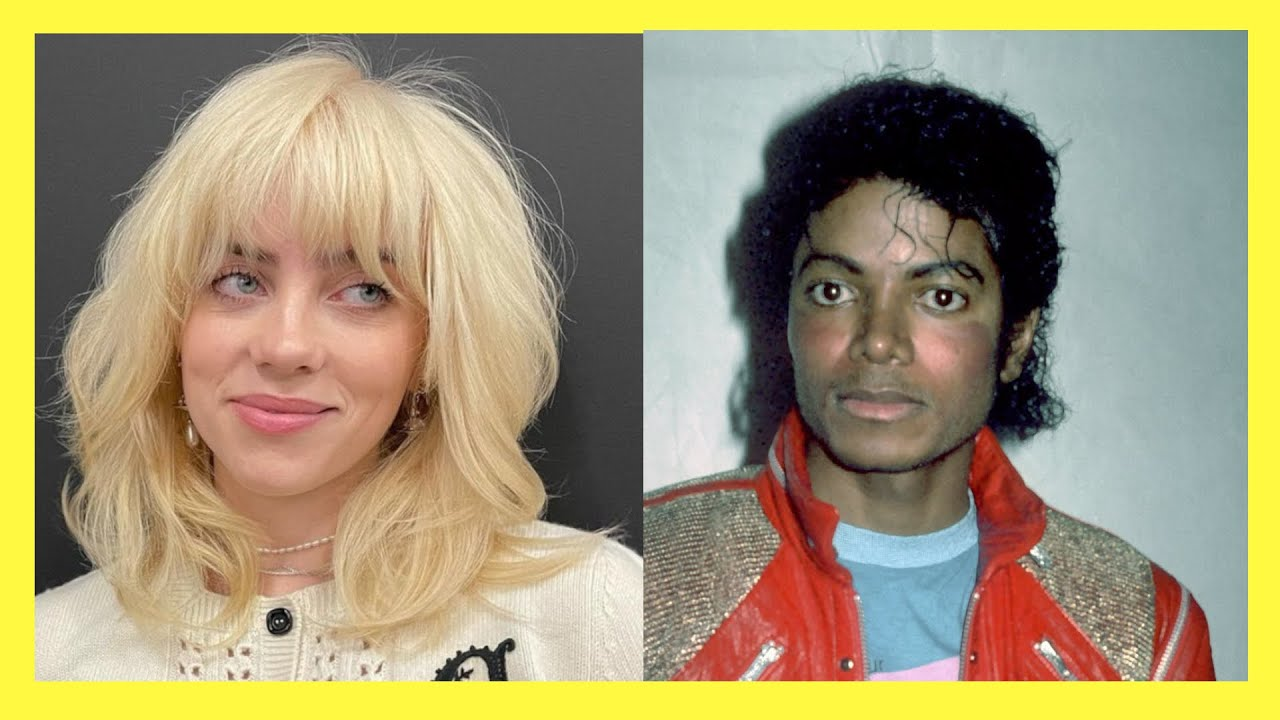 Imagine if Michael Jackson and Billie Eilish had a chance to marry and have a daughter!! #shorts