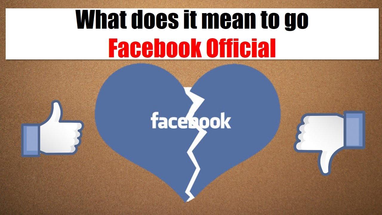 facebook official relationship