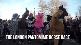 London Pantomime horse race