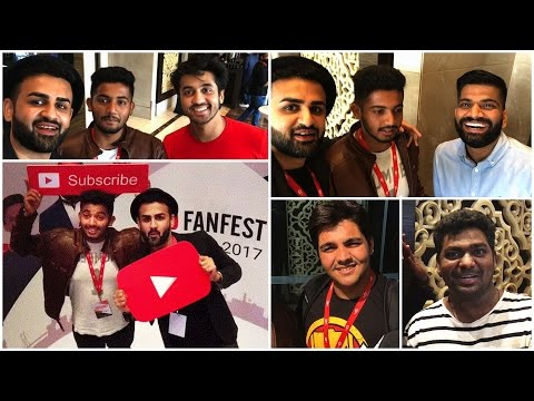 YouTube FanFest India 2017 Creator Camp VLOG | Technical Guruji, Mumbiker Nikhil, Zakir Khan,UIC,QRT