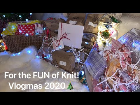 Vlogmas 2020 Day 5:For the FUN of Knit!