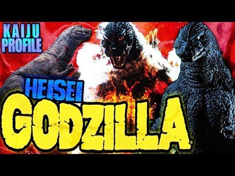 Heisei Godzilla KAIJU PROFILE