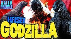 Heisei Godzilla|KAIJU PROFILE 【wikizilla.org】