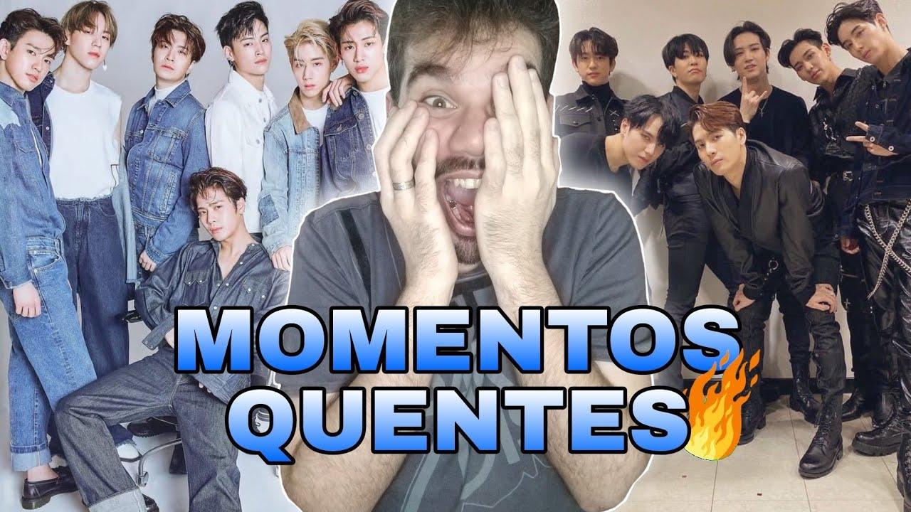 MOMENTOS GAYS DOS INTEGRANTES GOT7