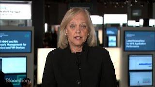 HPE's Meg Whitman: Split From HP Has Been 'Fabulous'