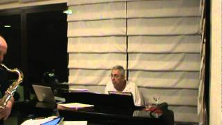 "Carlos Augusto (piano) & Luiz ""Salsa"" Oliveira (sax) - selecionando..."