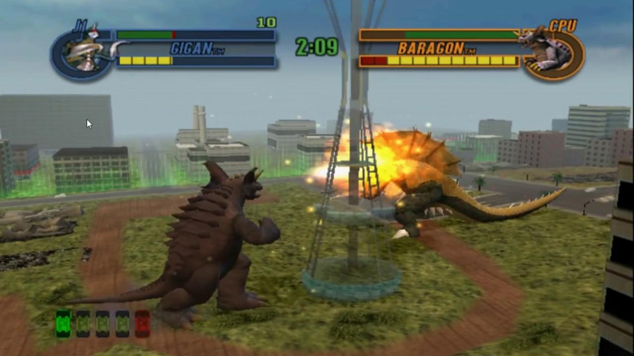 Descargar/Download Godzilla Save The Earth (Rom PS2) 2018