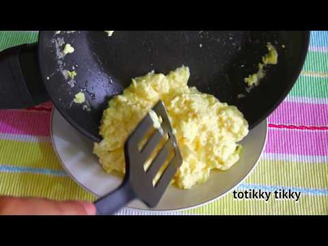 Sour Cream Scrambled Eggs : Breakfast Recipe