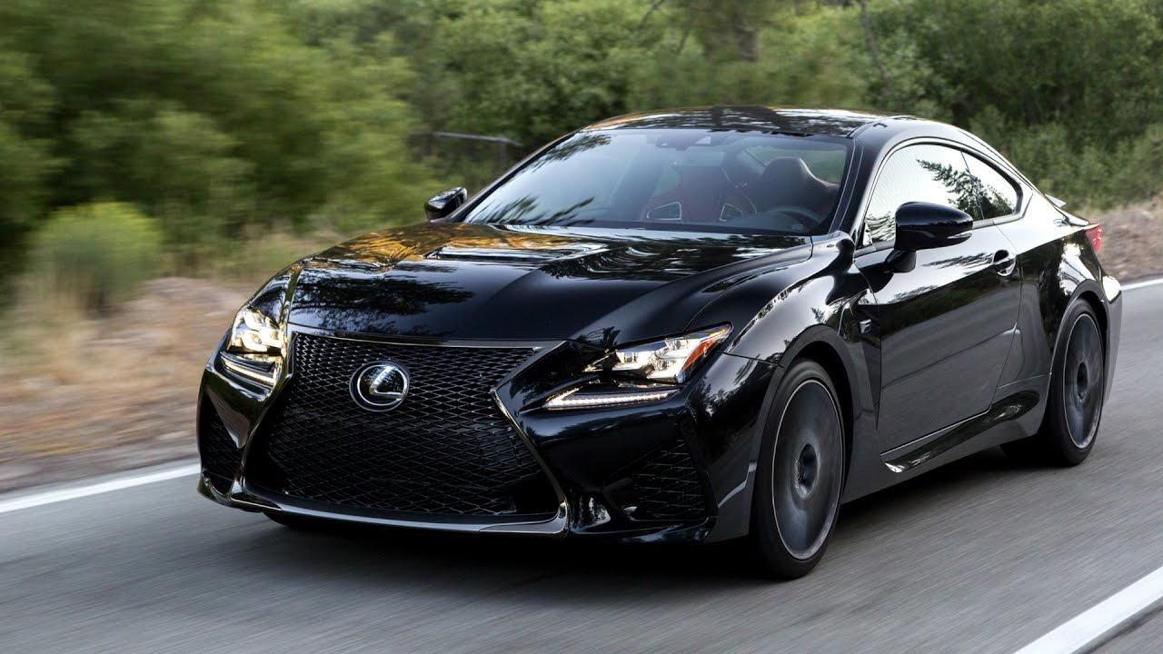 2017 lexus rc f (467 hp v8) - awesome drive and design - youtube