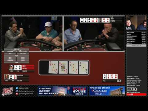 LIVESTREAM - Cash Game Day 2 | SugarHouse Casino - Philadelphia, PA | Poker Night in America