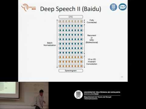 D3L6 End-to-end Speech Recognition with Recurrent Neural Networks (by José A. R. Fonollosa)