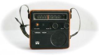 Обзор - Радиоприемник Вега 404 СССР 1978 год