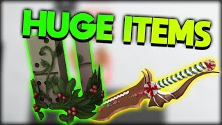 NEW CHRISTMAS ITEMS! (DOMINO CROWN AND IMMORTAL SWORD) | ROBLOX Secret Christmas Sale