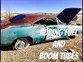 "Part 32 of the ratty 1969 Big Block Dodge Charger project ""fuel and boom tubes"""