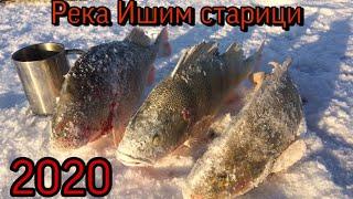 Зимняя рыбалка на старицах Ишима 01.03.2020 года.