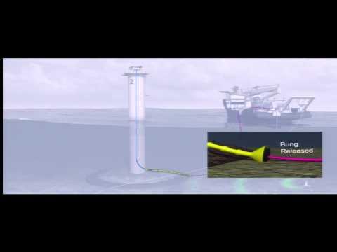 GDF Suez - Installation d'une éolienne en mer