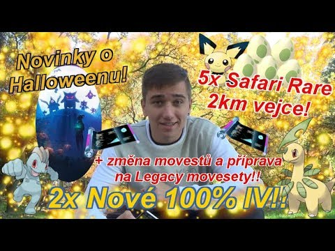 Pokémon GO | 2x Nové 100% IV! Rare 2km vejce! Gen 3 Novinky! | Jakub Destro