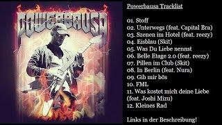 BAUSA Powerbausa ALBUM tracklist