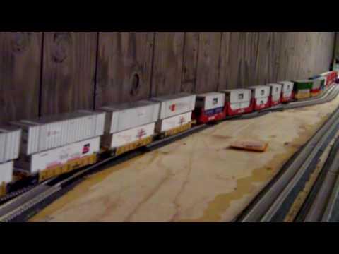conrail double stack train