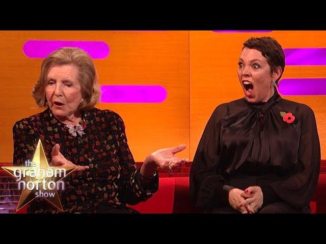 Olivia Colman SHOCKED By Lady Anne Glenconner's Honeymoon Story    The Graham Norton Show