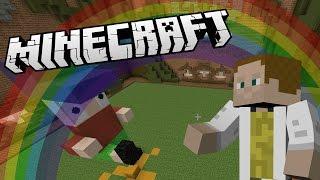 [GEJMR] Minecraft Minihry - Build Battle - Králík, Duha, Banán