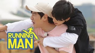 Video Ji Min Even Rides on Kwang Soo's Back~~ [Running Man Ep 300] download MP3, 3GP, MP4, WEBM, AVI, FLV Juni 2018