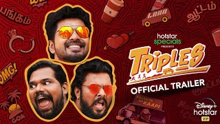 Triples | Official Trailer | Karthik Subbaraj | Jai | Vani Bhojan | Streaming from December 11