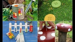 Easy DIY Garden Decor 2018 | Backyard Decoration Ideas With Fence Fountain and Bench Top 40
