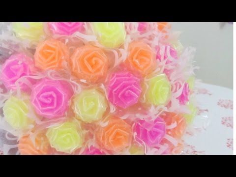 HOW TO MAKE DRINKING STRAW ROSES