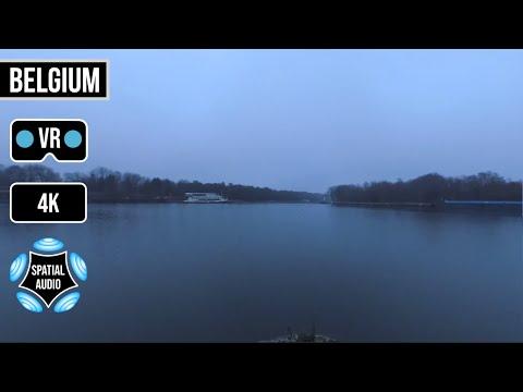 360° VR 5.7K & Ambisonic Audio | Dessel-Kwaadmechelen Canal | Antwerp Province | Belgium