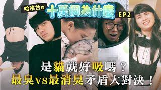 《哈哈台的十萬個為什麼》EP2 - 有貓的為什麼!各種含吸舔的謎之問題!ft. @Kimmy C. 陳潁宜|哈哈台