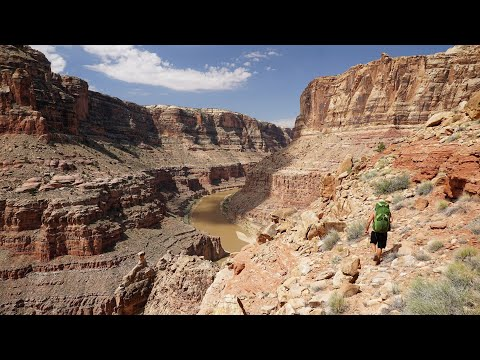 Backpacking Dark Canyon: Colorado River Ledge Route\Midway\Bowdie\Youngs\Sundance Loop in 4K
