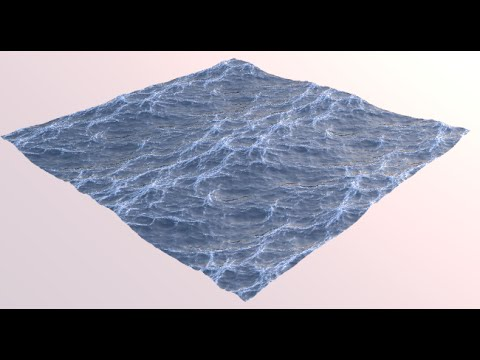 Blender 3D | The realistic ocean | Реалистичный океан